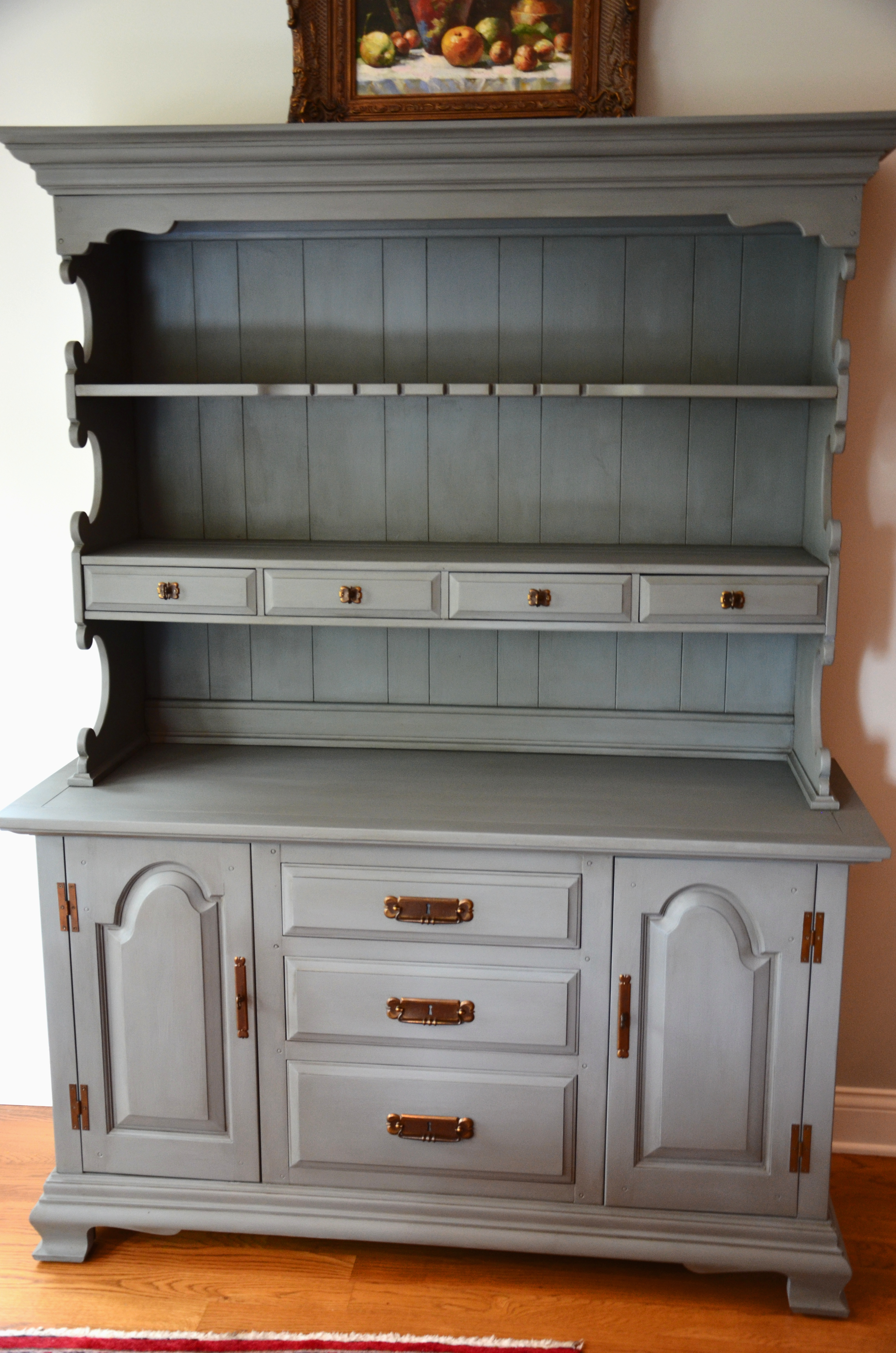 Chest painted in Maison Blanche Magnolia with
