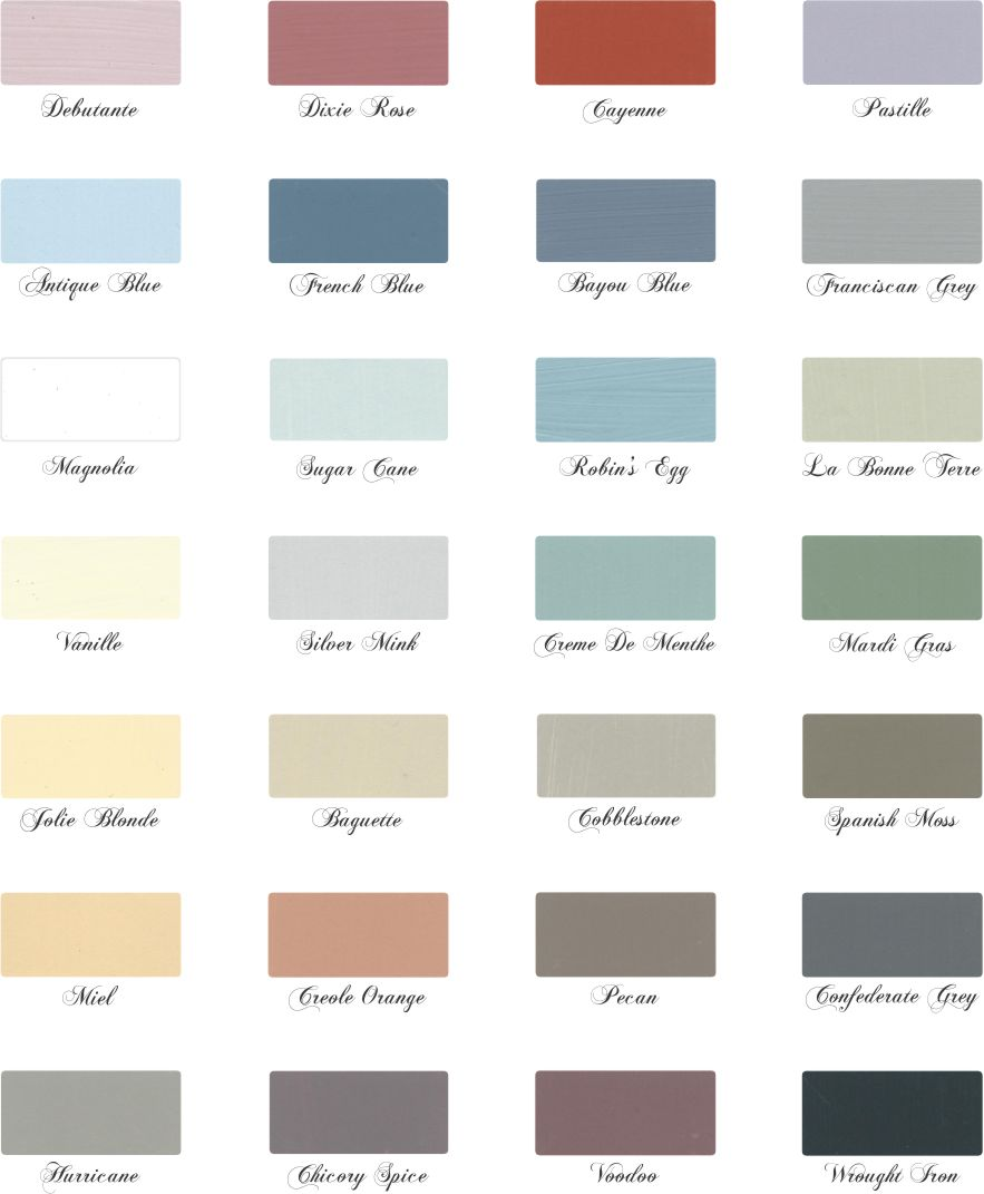 Beautiful Paint Colors Inspiration La Craie's Beautiful Paint Colors  The Painted Perch Inspiration